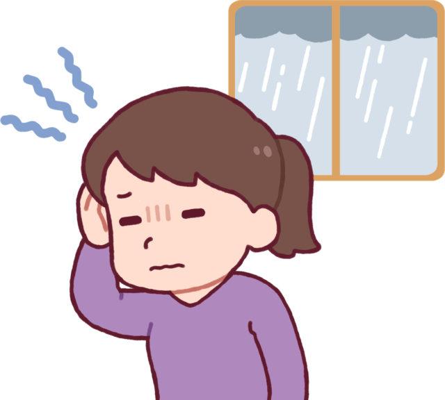 気象病 頭痛